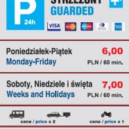 Cennik Parkingu w Centrum Krakowa